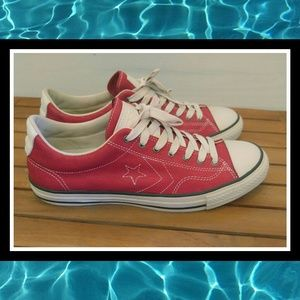 688f949006672d Converse Shoes - Distressed CONVERSE x VARVATOS Star Player Red Lo